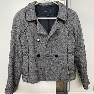 Banana Republic Wool Peacoat